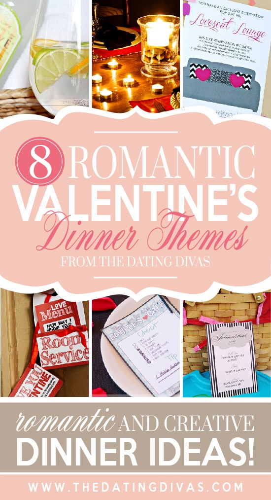 Romantic dinner themes for Valentine's day