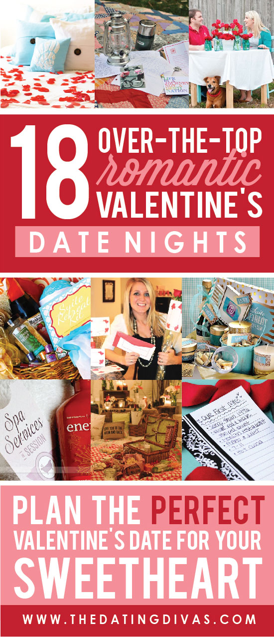 Over Romantic Valentine s Day Date Ideas - From The Dating Divas