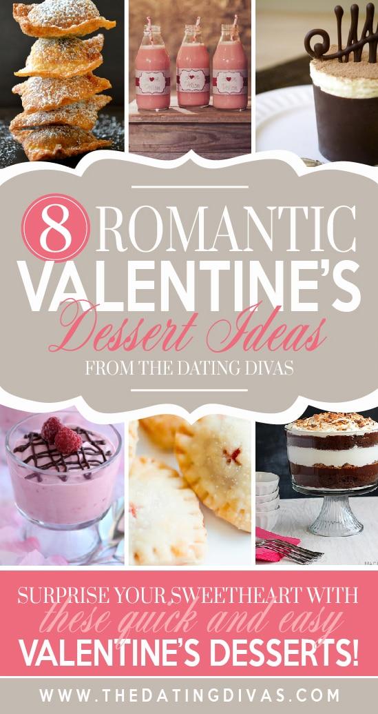 Romantic dessert ideas for Valentine's day