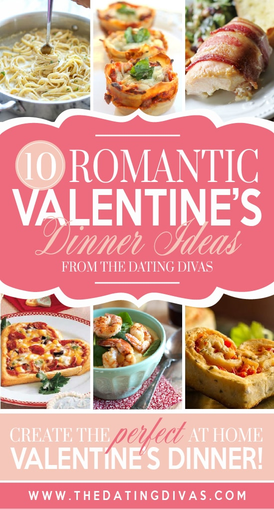 Romantic dinner ideas for Valentine's day