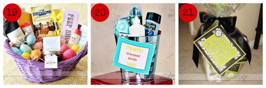 Homemade Gift Basket Ideas For Boyfriend Birthday Best Christmas Gifts