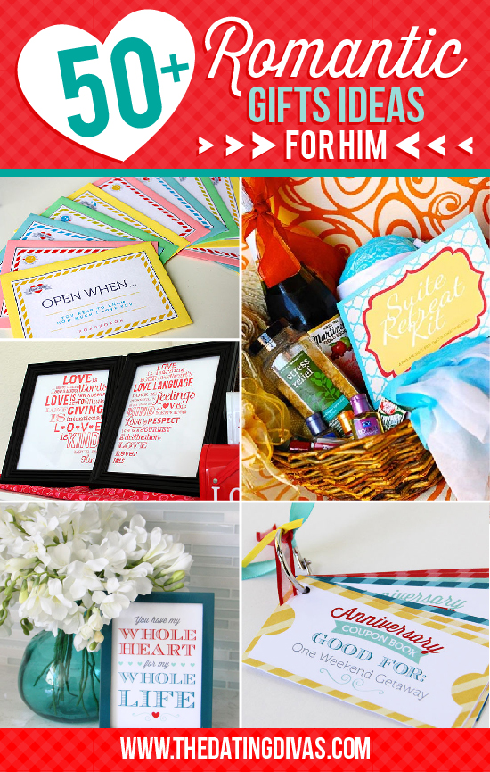 50 Romantic Gift Ideas For Him Pushup24