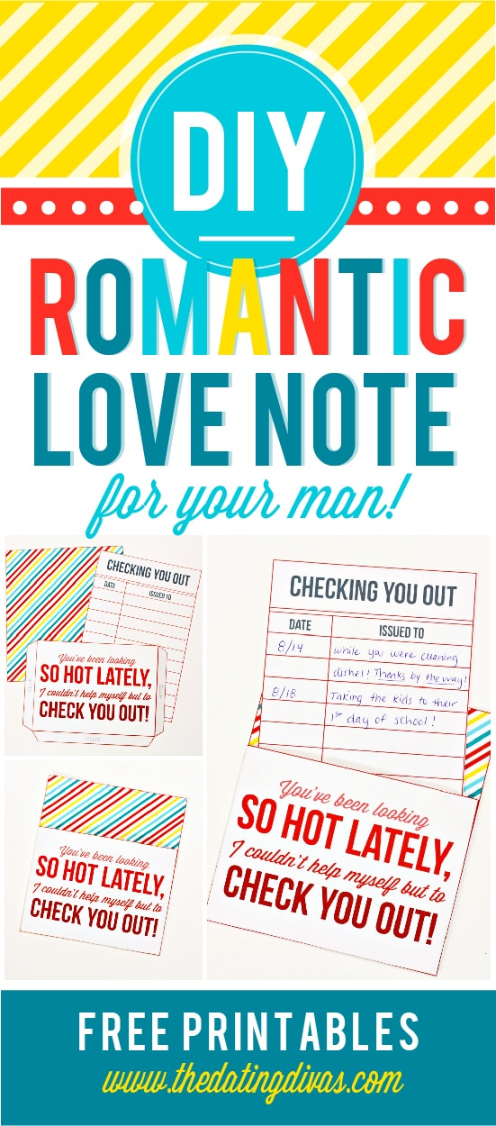 Romantic DIY Love Note