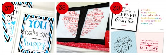 Romantic Printables gifts for man