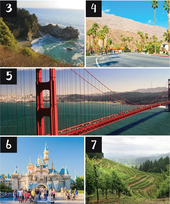 Romantic Vacations and Honeymoons in California