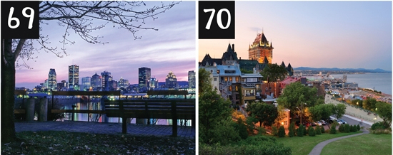 Romantic Couples Vacations and Honeymoons in Quebec