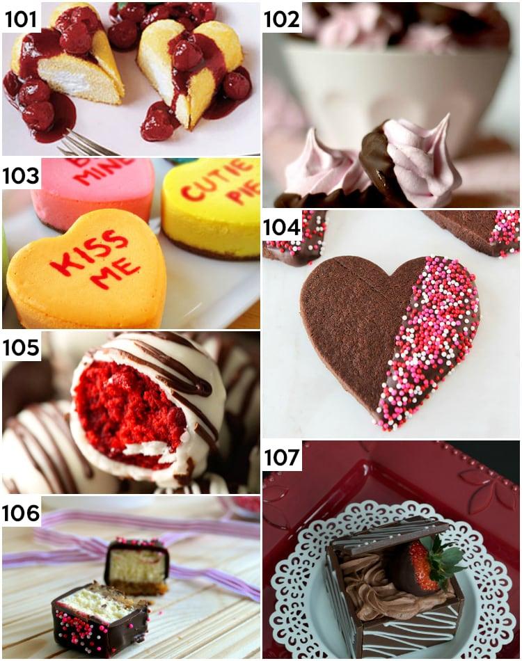 Romantics Valentine's Desserts