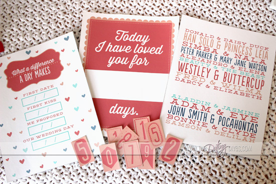 Romantic Wall Art Printables for Valentine's Day