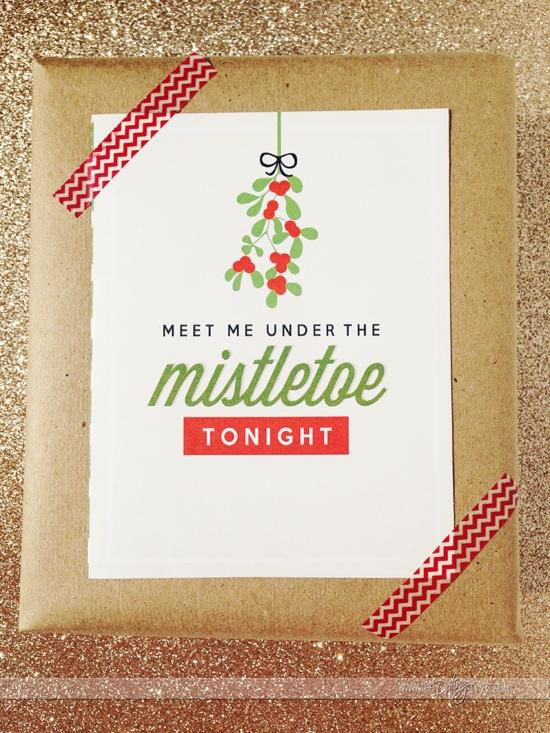 flirty christmas card ideas
