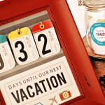 DIY Vacation Countdown