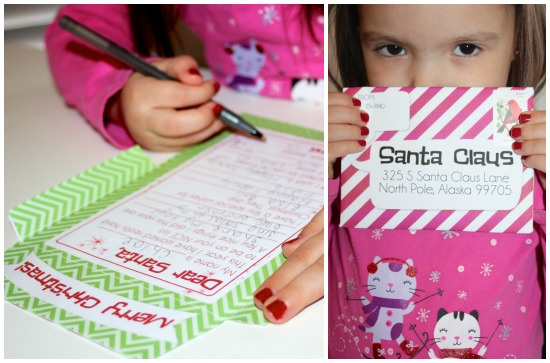 Printable Santa Letter- it's really mailable!