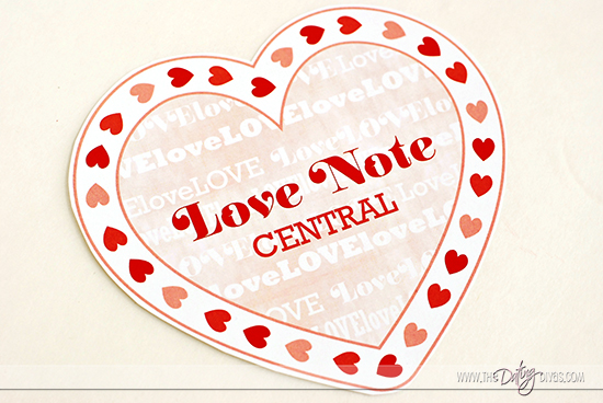 Love Note Clothespin Wreath Printables