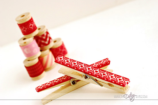 Love Note Clothespin Wreath Decor