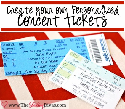 create a concert ticket Template – Create Tickets Template