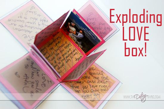 Sarina - Exploding Box Pinterest