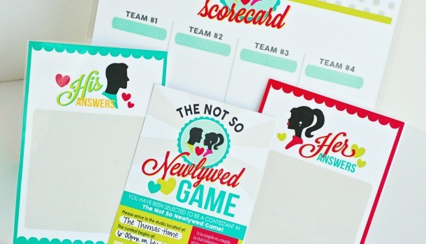 The Not-So-Newlywed Game Date Night Idea