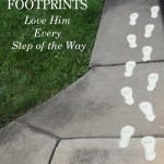Tara - Sassy Suggestions Love Footprints - Pinterest Pic