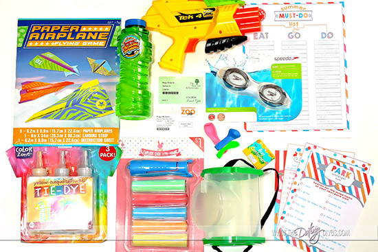 School's Out Gift Basket