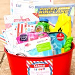 Schools Out Gift Basket