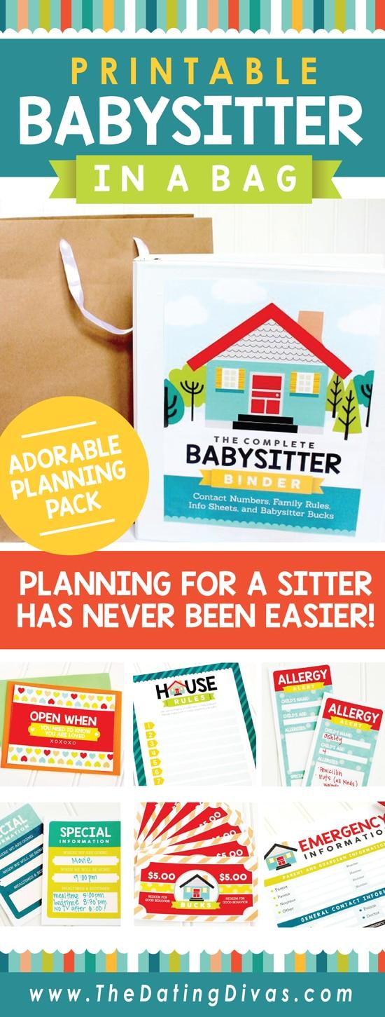 Babysitter Binder