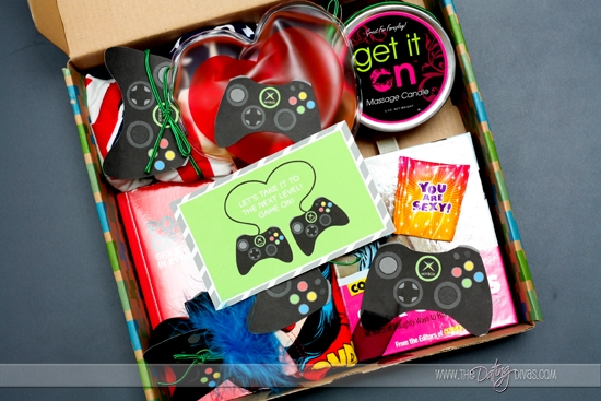 A box full of bedroom goodies that will have them playing with you instead of their video games!