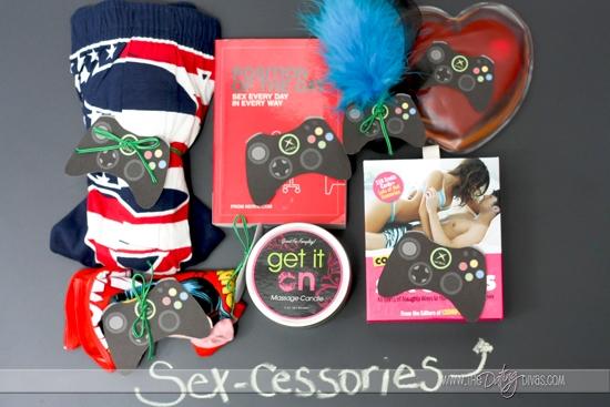 Accessories perfect for the SeXBOX.