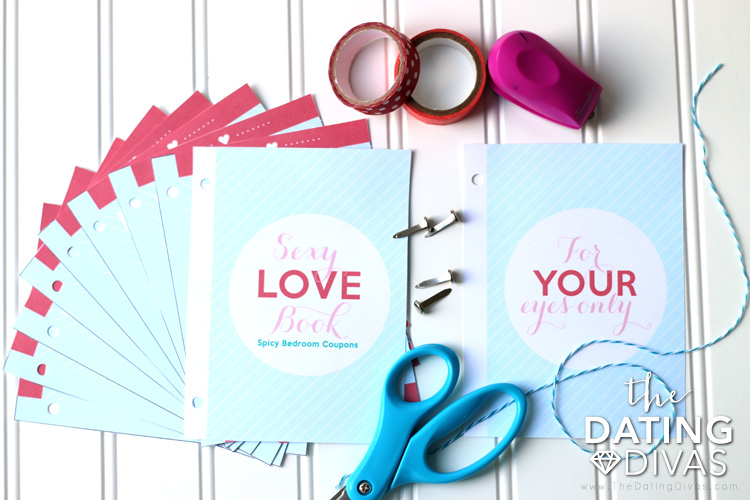Sexy Love Coupon Book Intimate Gift