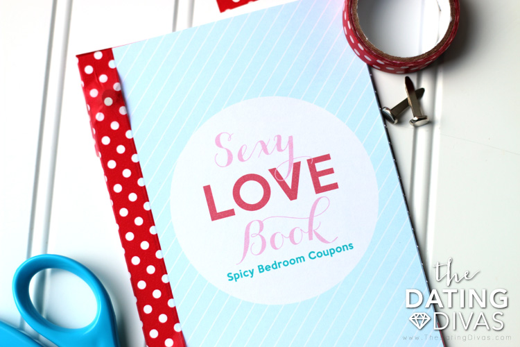 Sexy Love Coupon Book Valentines Gift Idea