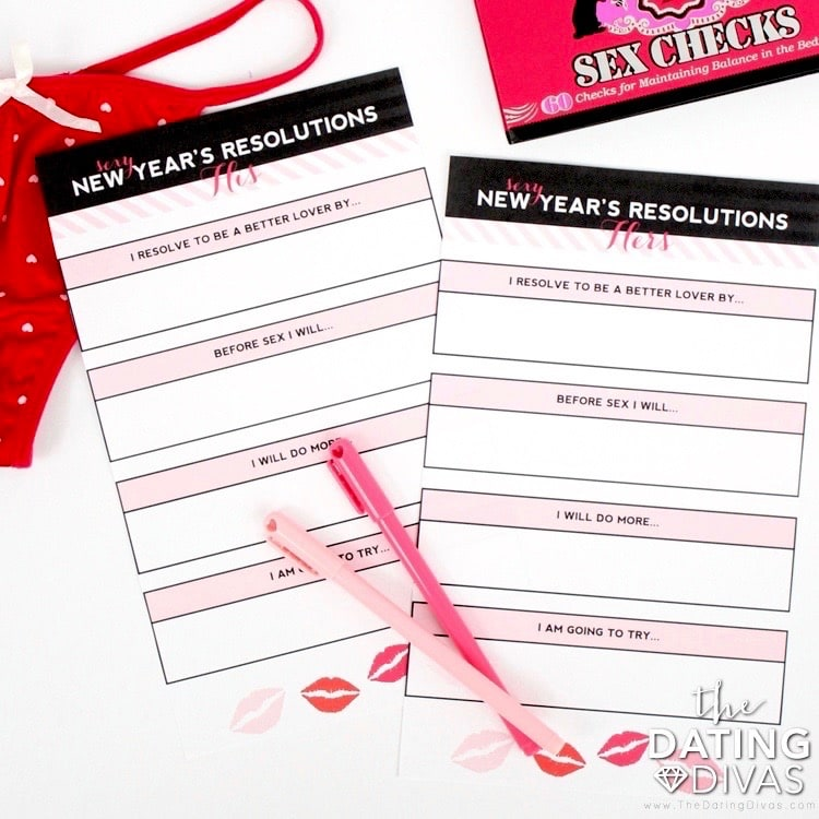 Sexy New Year's Resolutions for your Spouse