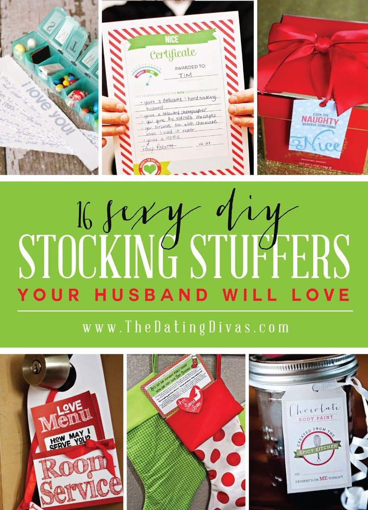 Sexy Stocking Stuffers DIY Gifts