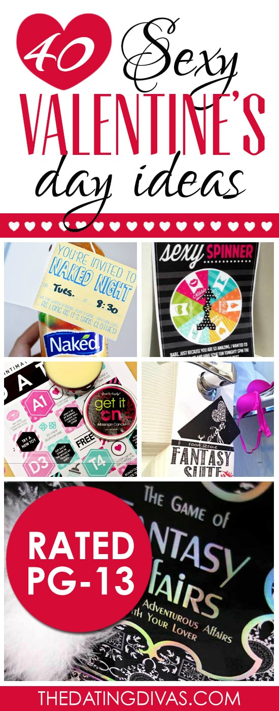 40 Sexy Valentine's Day Ideas