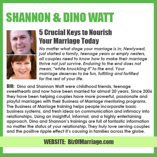 Shannon & Dino Watt