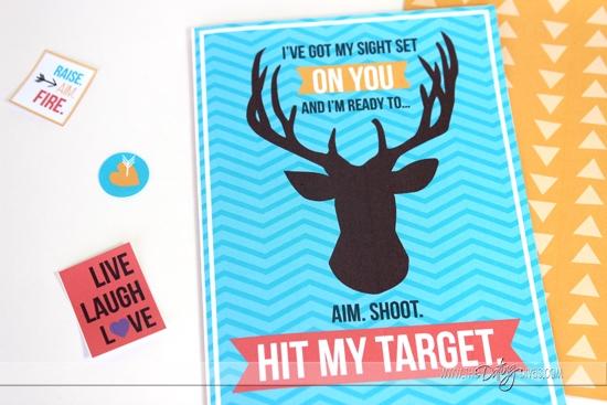 Shooting Range Date Night Invite
