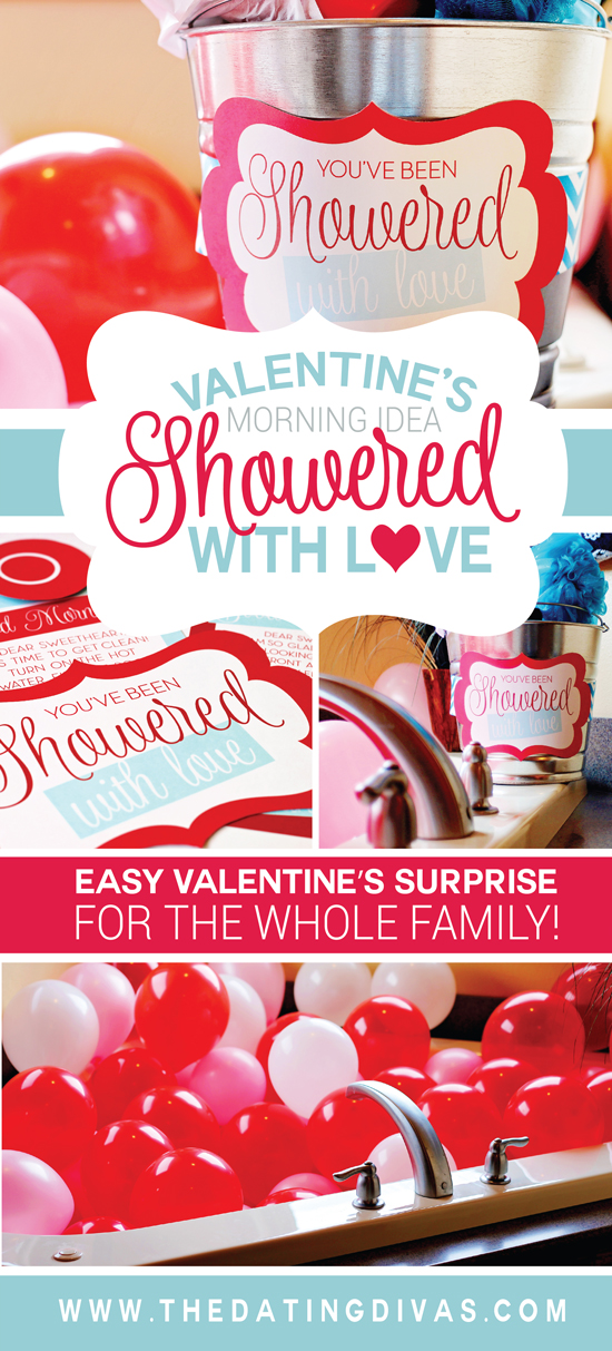 Showered with Love Printable Poem