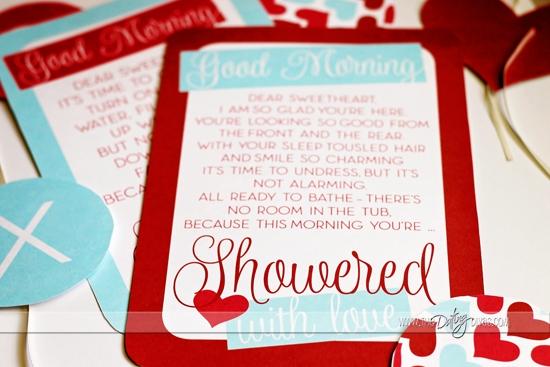 Showered in Love- love poem