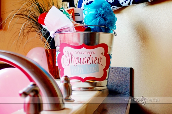 Showered in Love- Shower Gift