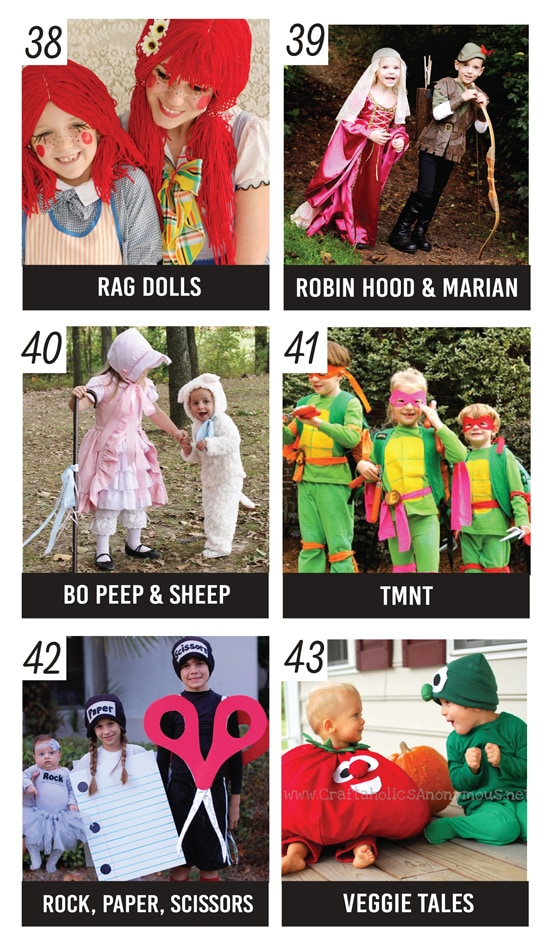 Sibling Halloween Costume Ideas