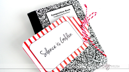 Silence Is Golden Printable