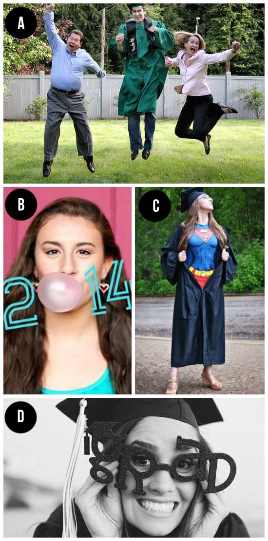 Silly Graduation Photo Ideas