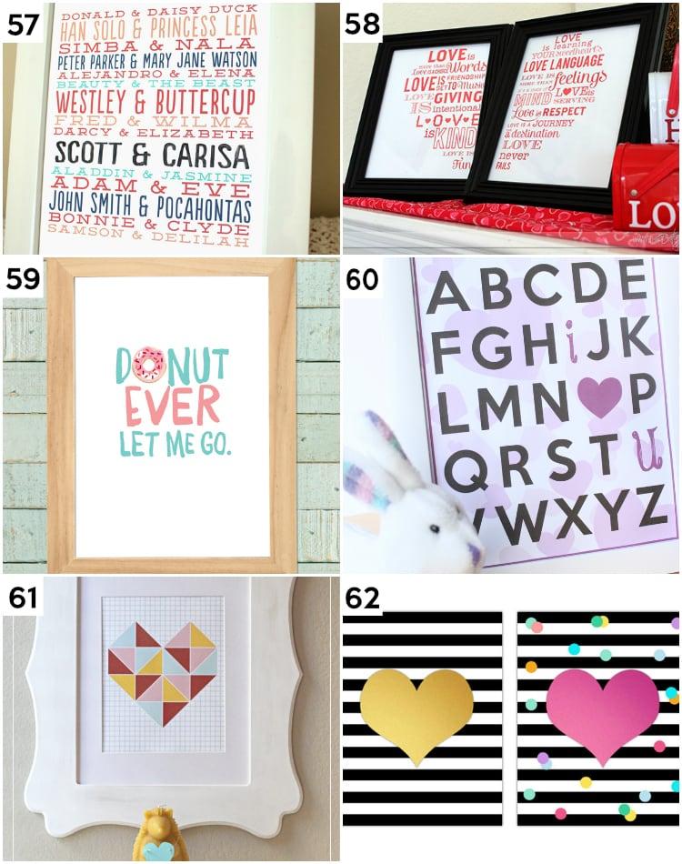 alphabet dating ideas
