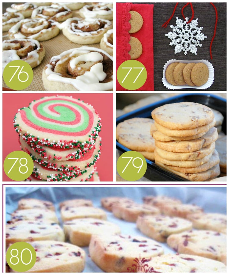 Slice and Bake Christmas Cookie Recipes