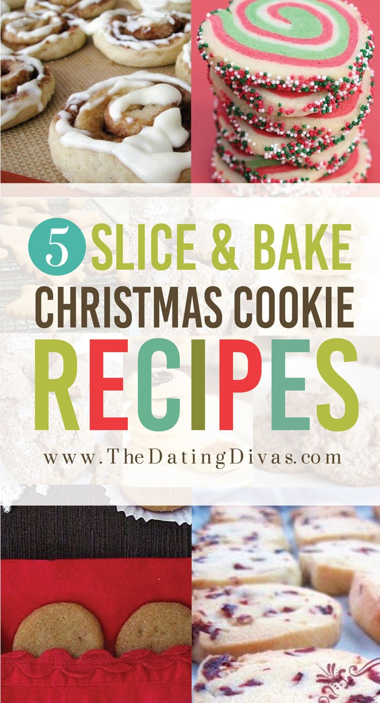Slice and Bake Christmas Cookies