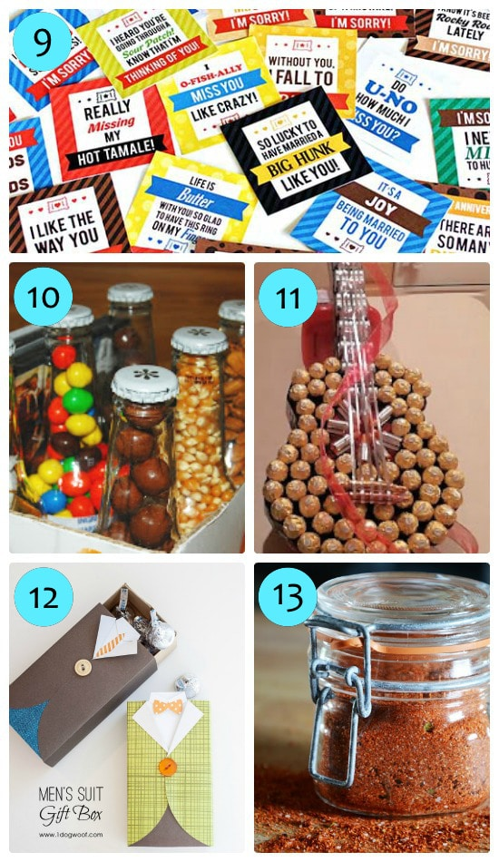 Yummy snack gifts for him