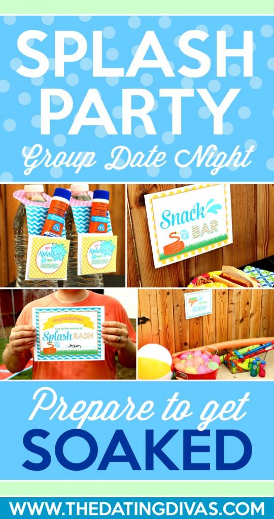 Splash Party Group Date Night
