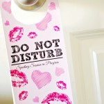 Romantic Do Not Disturb Door Hanger