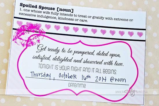 dating invitation card