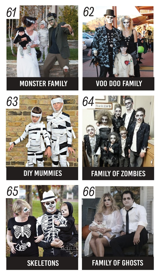 Spooky Halloween Costumes for Families
