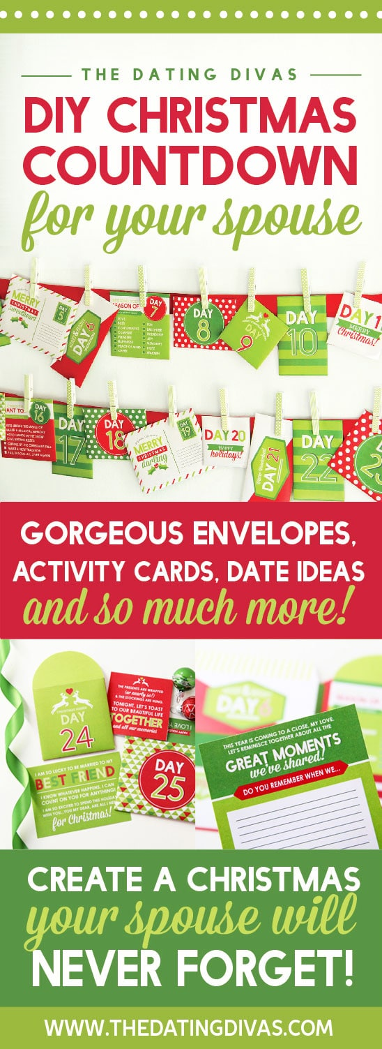Spouse Christmas Countdown Pinterest