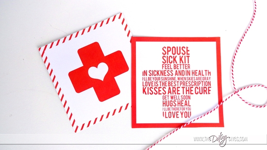 Spouse Sick Kit Cards