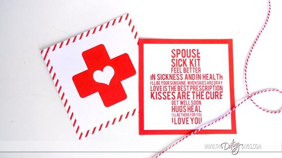 Spouse Sick Kit Cards